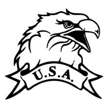 USA American Patriotic Eagle Car Truck Window Wall Laptop Vinyl Decal Sticker