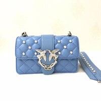 Famous brand Woman Ladies totes designer genuine Leather Handbags Women Messenger Bags Chain Crossbody Bag Fashion Swallow Bags
