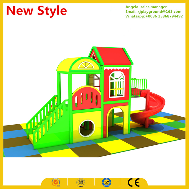 2017 hotest sale small kids indoor playground for home-in Playground ...