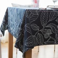 Styl europejski liści obrus z nadrukiem prostokątny obrus Tafelkleed obrus wesele strona główna dekoracja kuchenna