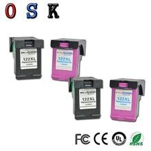 OSK 2set 122XL ink cartridges compatible For HP122 XL HP Deskjet 1000 1050 1050A 1510 2000 2050 3000 3050 Printer