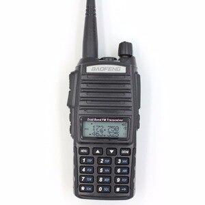 Image 2 - BaoFeng UV 82 5W Dual Band 136 174&400 520MHz Ham Two Way Radio UV 82 2800mAh Battery Walkie Talkie