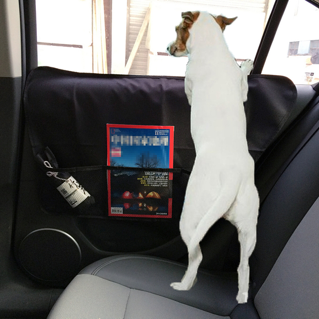 2pcs Car Door Windows Protector Seat Side Cover Pet Mat Scratch