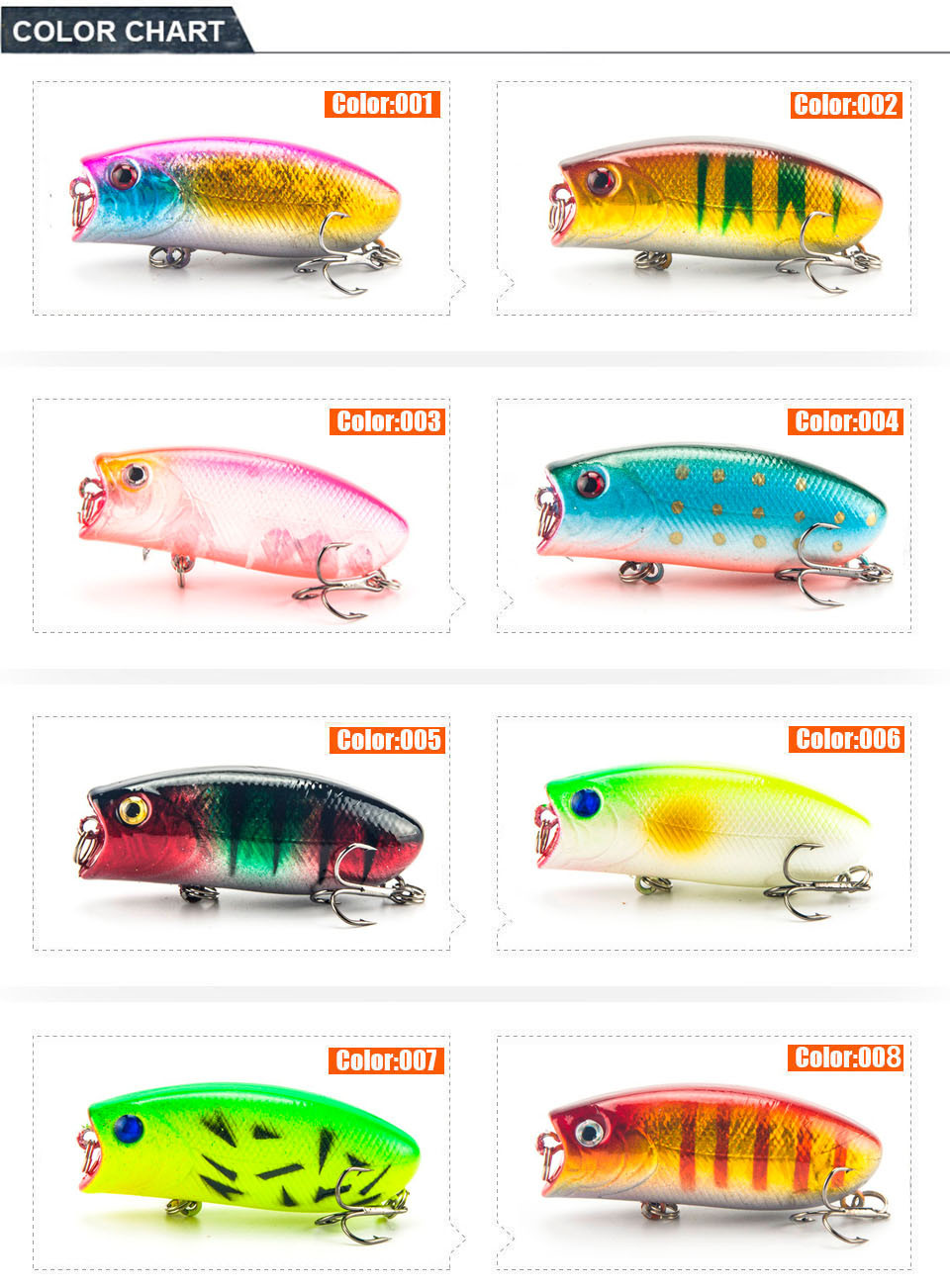 1pcs 11g55cm poppers fishing lure top water pesca fish lures 1 lure nvjuhfo Gallery