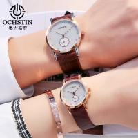 Lovers Watch Mens Top Brand OCHSTIN Luxury Fashion Watch Men Ultra Thin Gold Mesh Business Watches Women Dress Quartz Watch