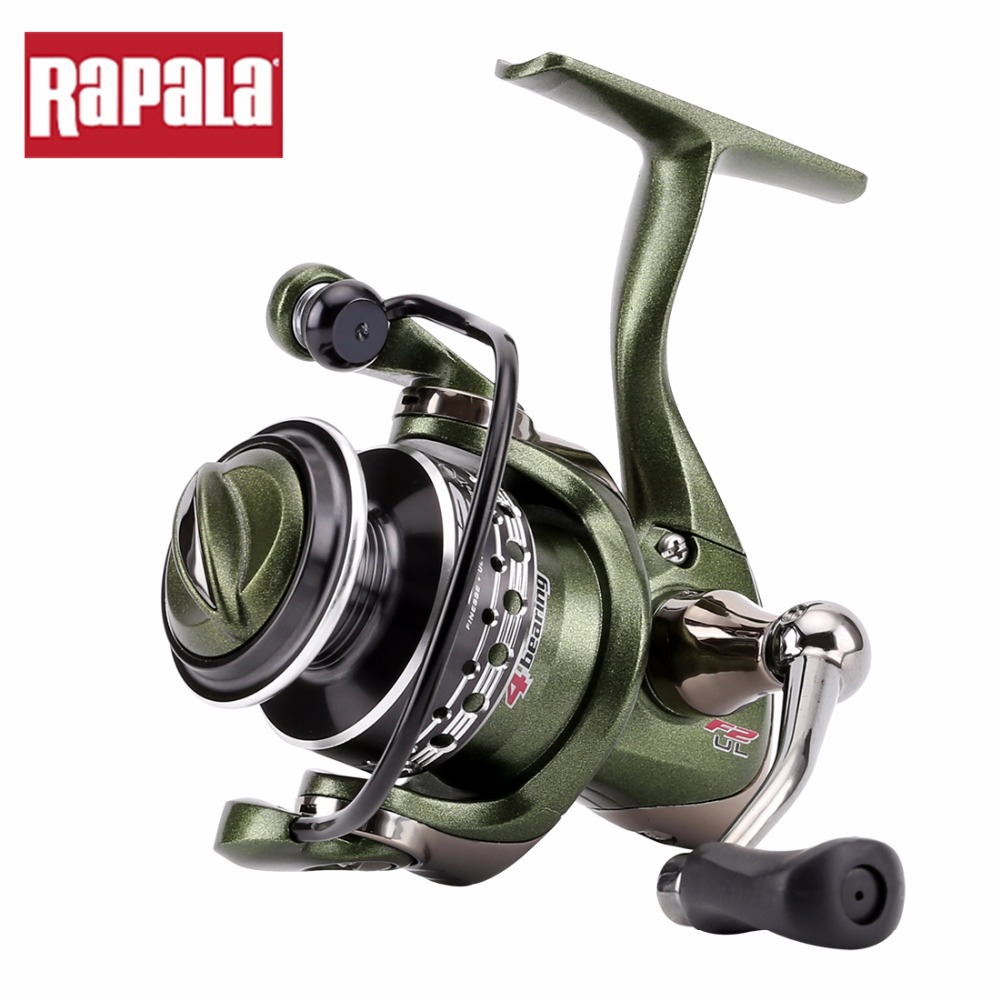 Rapala Brand F2UL 10SP Spinning Fishing Reel 5 2 1 181g 4BB Aluminum Alloy Small Saltwater
