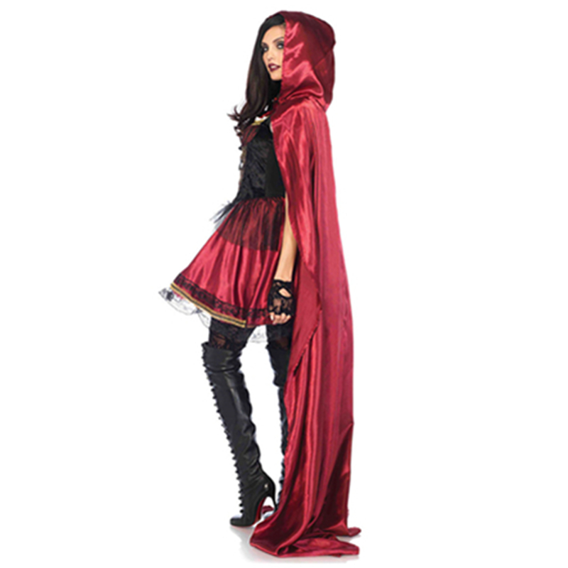 Hot Sexy  Cosplay Little Red Ridding Hood   Women Costumes Halloween Fantay costume