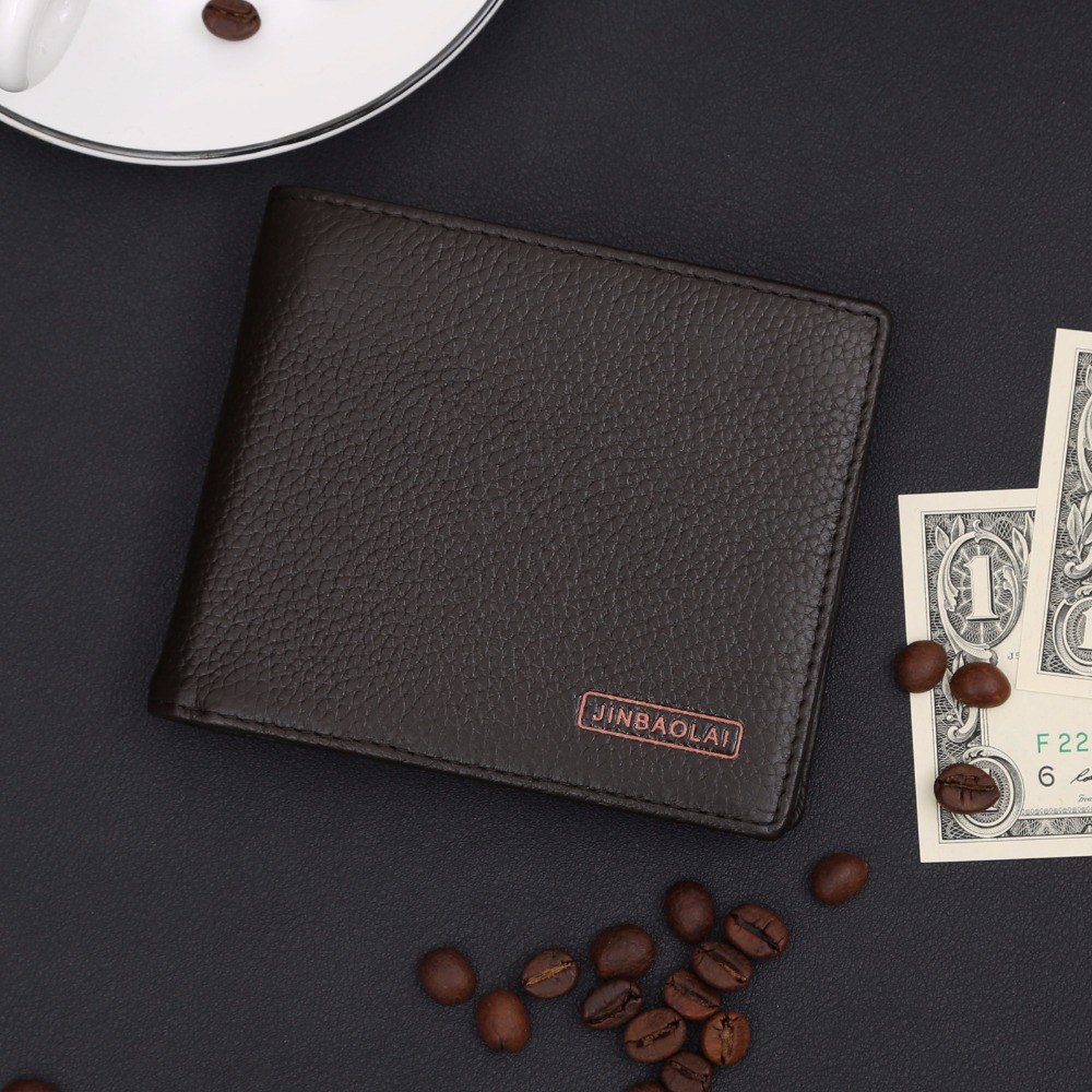 Standard bank business online - Men Wallet Simple First Layer Leather Thin Men Wallet Bit Multi Card Bank Card Wallet