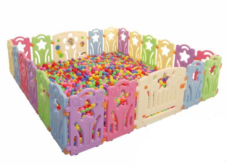 Kojec dla dziecka kryty ogrodzenia dla dzieci na świeżym powietrzu dla dzieci plac zabaw
