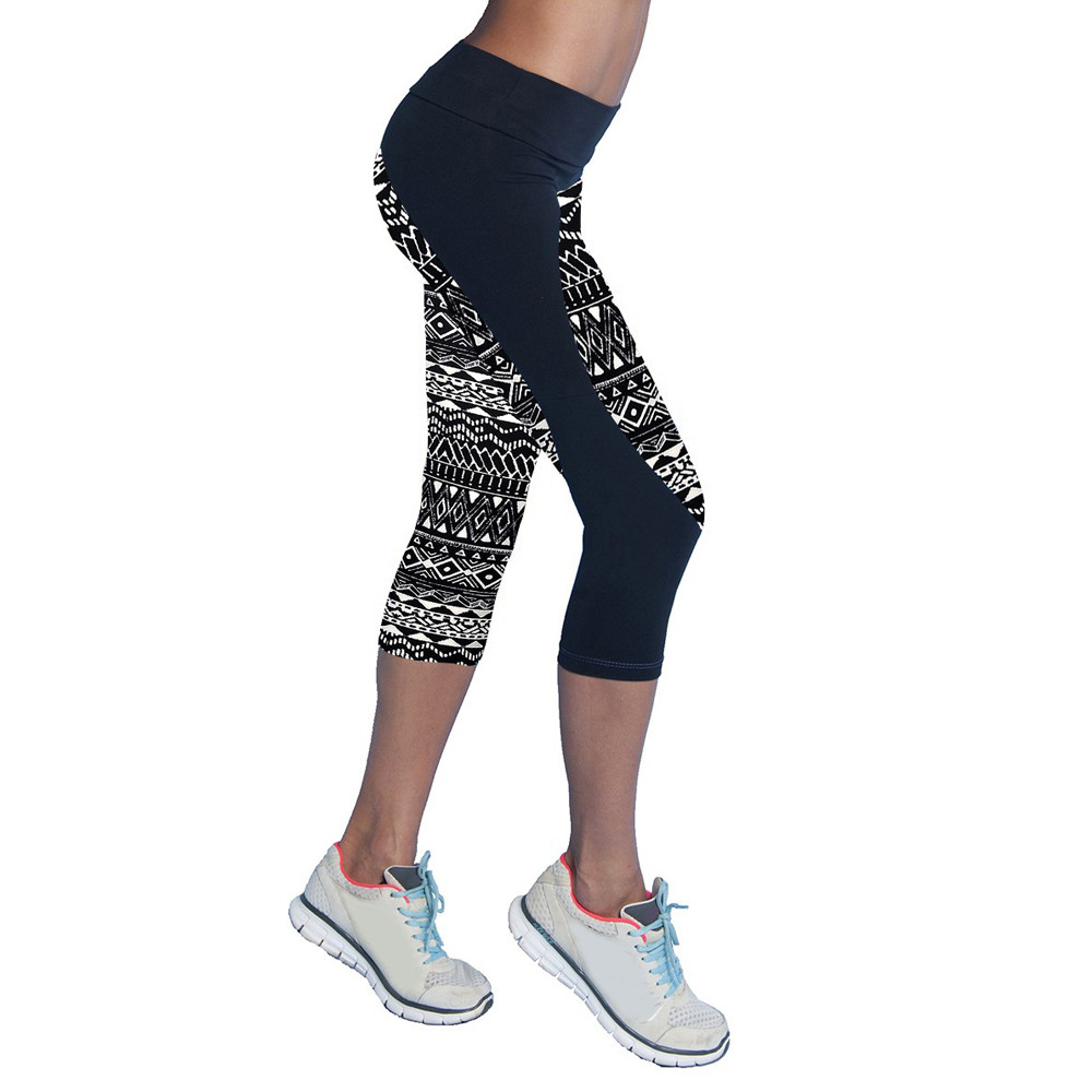 New Leggings Fitness Move Brand Women Stretched Sports -3859