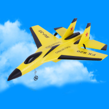 Rc Plane Cool Aircraft RC Fight Fixed Wing RC Airplane Made Of Foam Plastic FX-820 2.4G Remote Avion Radio Control Model Glider new player 63cm larger rc fighter fx 861 4 ch fixed wing rc glider electric foam stunt rc airplane gliders plane toys up to 500m