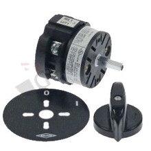 MAZZER поворотный переключатель 2 0-1 наборы контактов 2 типа CA0170002V 400 V 20A вал 5x5 мм
