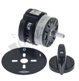 0-conjuntos de Contatos tipo 2 Mazzer Interruptor Rotativo Ca0170002v 400 v 20a Eixo 5x5mm 2 1