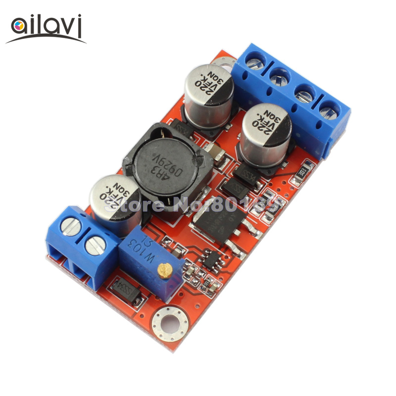 цена на 10pcs DC-DC Boost Converter Positive and Negative Dual Output 3V-6V To 5V-32V 12V/24V Adjustable Power Supply Step-up Module 3A