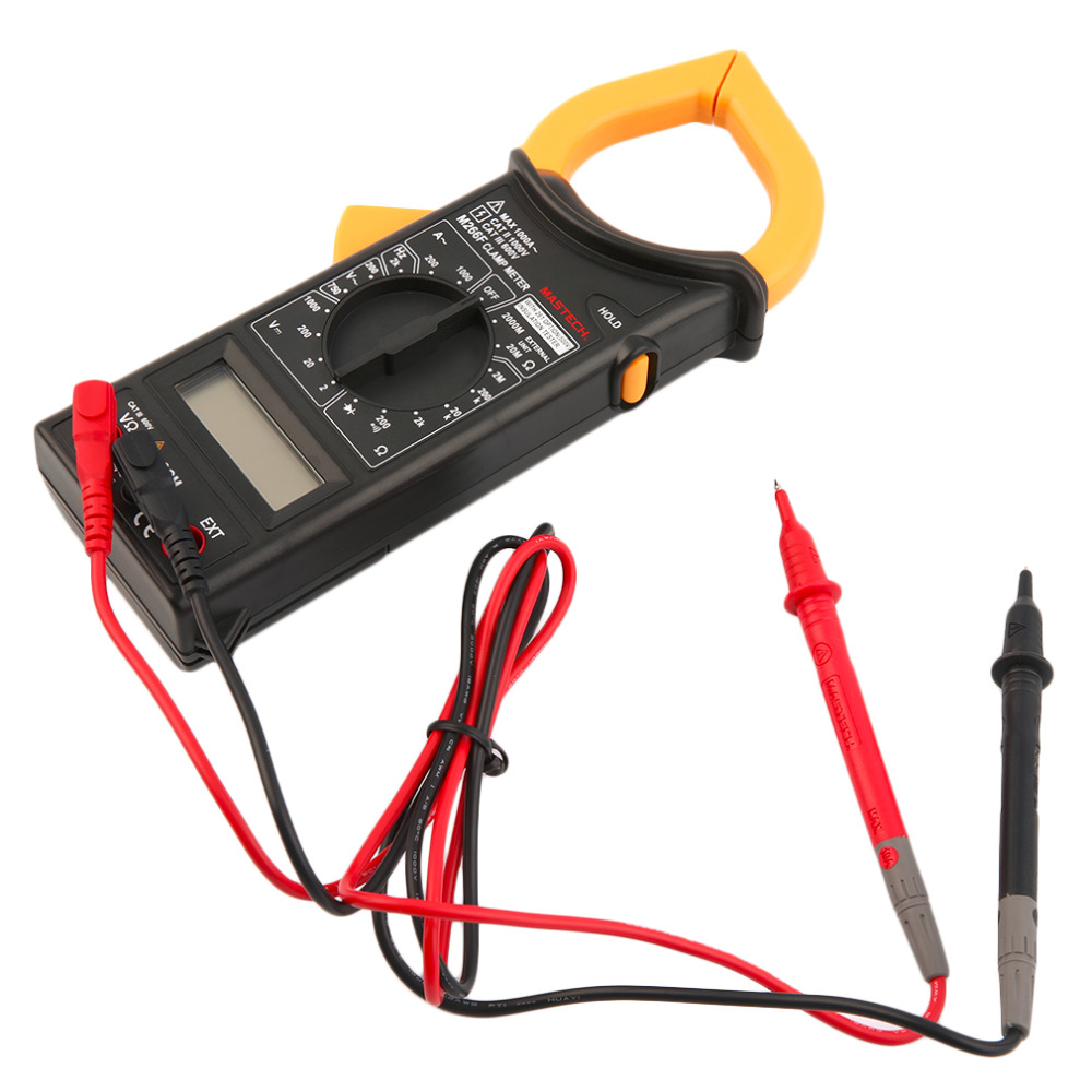 New Portable MASTECH M266F Voltage Current Resistance Temperature Digital Clamp Meter  цены