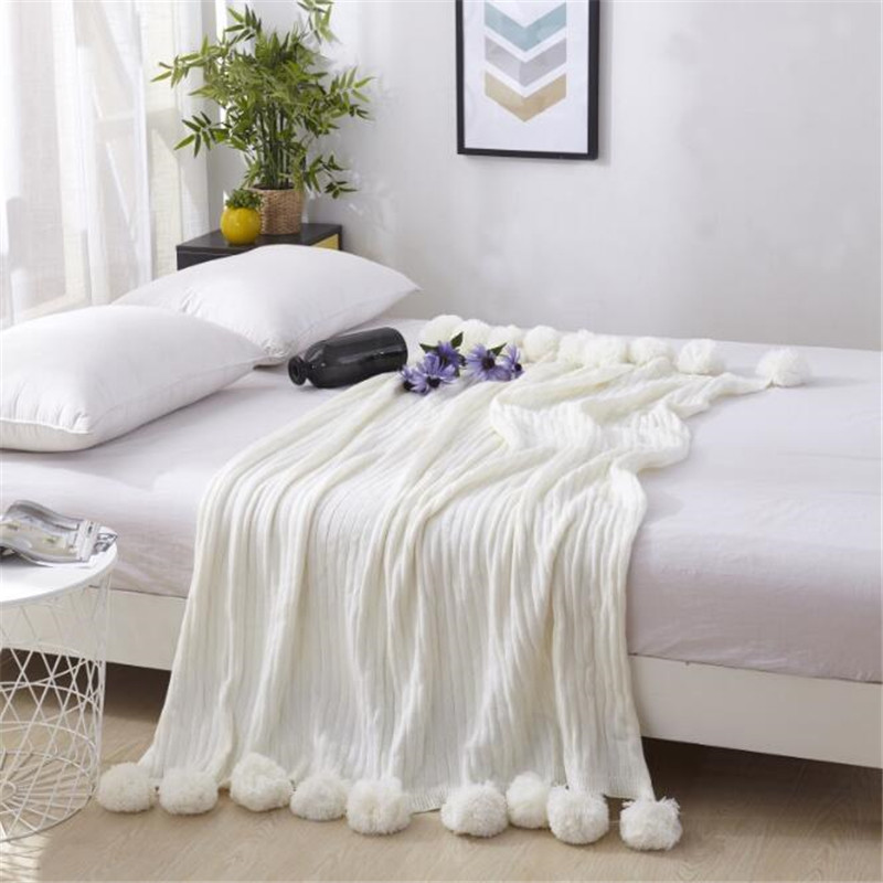 solid color baby Towelling Coverlet/Throw Blanket Towel bedspread bedding set quilt sheet sofa blanket on the bed size 130*170cm