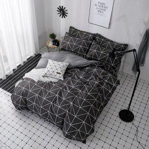 Image 2 - Lanlika 2020 Bedding Set Duvet Cover Set King Queen Full Twin Brief Flat Sheet Man Adult Nordic Bedspread Home Bed Linen Set