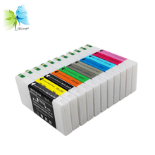 цены Winnerjet 2 sets/lot compatible prefilled ink cartridge with dye ink for Epson stylus pro 4900 printer ink cartridge