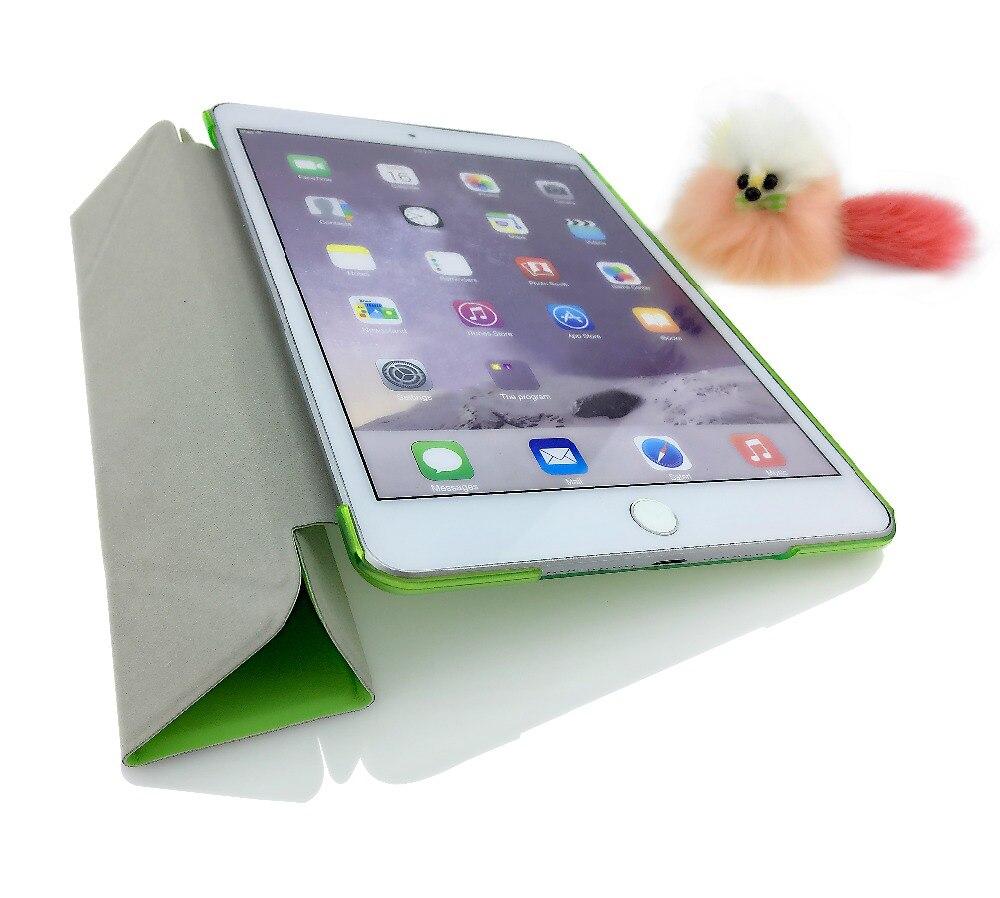 Case for iPad mini 1 mini 2 mini 3 YRSKV Multi-fold PU Leather Slim Magnetic Front Smart Cover Skin + Hard PC Back Tablet Case
