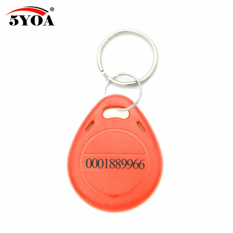 50 шт. RFID 125 кГц EM4100 брелок кольцо для ключей чип Keytab TK4100 метки 125 кГц только для чтения