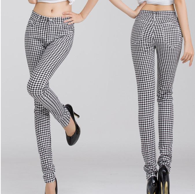026c5022c0865f Popular Houndstooth Pattern Pants-Buy Cheap Houndstooth Pattern .