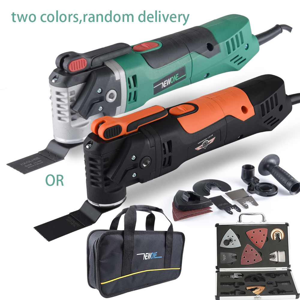 NEWONE sets Multi Function Electric Saw Oscillating Trimmer Home Renovator Tool woodworking Tool two colors random