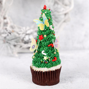 Image 4 - 42 sztuk mieszane motyl jadalne kleisty wafelek z papieru ryżowego Butterfly ciasto Cupcake wykaszarki urodziny tort weselny dekoracji