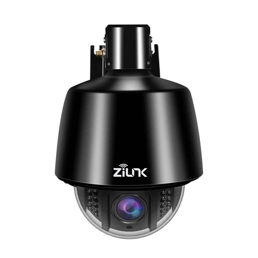 ZILNK Vitesse Dôme IP Caméra Wifi Sans Fil Extérieure PTZ de Sécurité 2.7-13.5mm Auto-Focus 5x Zoom HD 960 P Carte SD Étanche Onvif