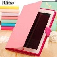Alabasta For IPad mini 1/2/3 IPad 2/3/4 Case Cover Ultra Slim Candy Color TPU Flip Wallet Credit Card Slot Tablet protective