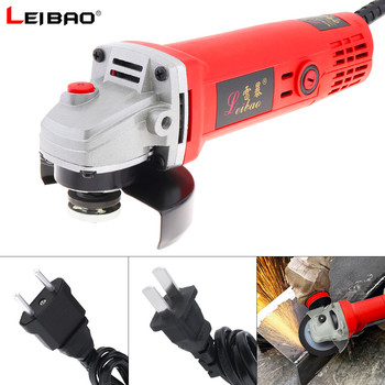 220V 11000rpm Multifunction Compact Electric Angle Grinder Machine Cutting Tool for Household Factory Polishing Rust Removal