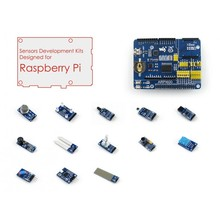 Buy online Raspberry Pi Model 3 B/2 B Accessories Pack=Raspberry Pi Expansion Board ARPI600 + Various Sensors, Raspberry Pi Not Included