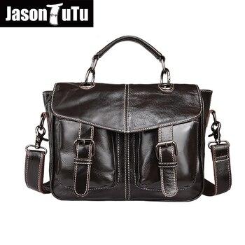 حقيبة جلدية أصلية الأزياء حقيبة أعمال حقيبة لابتوب الرجال حقائب السفر سستة مستحضرات تجميل الرجال حقيبة ساع حقائب يد جلدية HN36