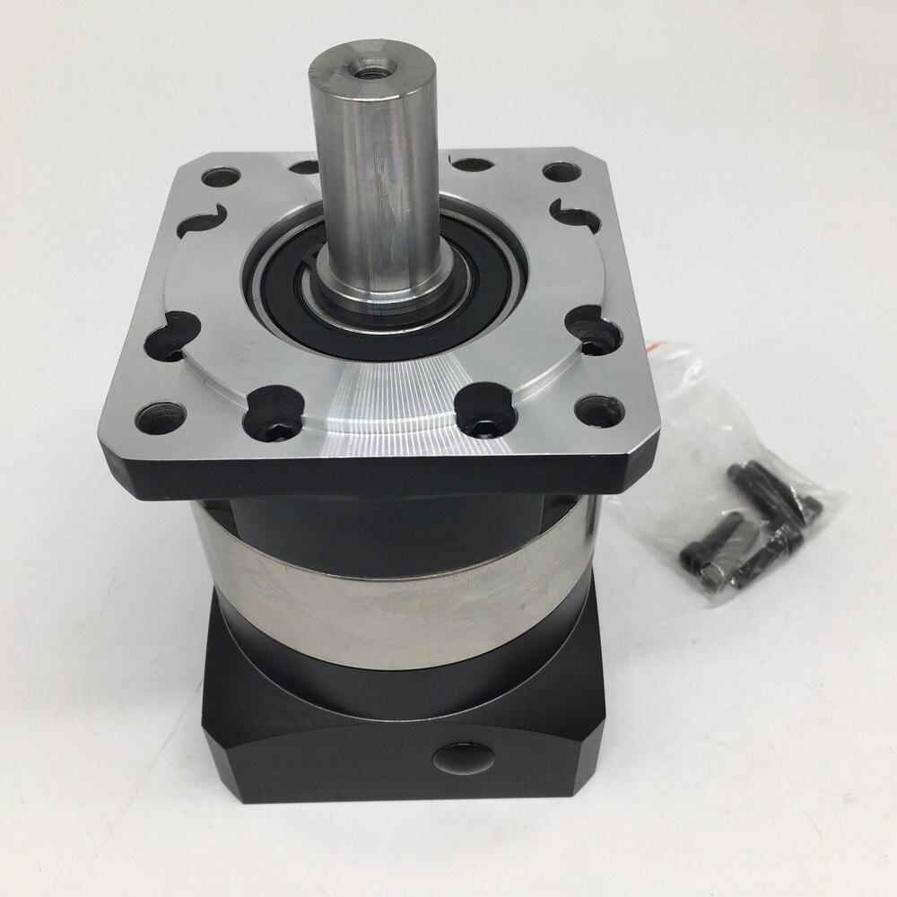 16 1 Speed Ratio NEMA32 80mm Planetary Reducer Top Precision Gearbox Reducer 6000rpm for Servo Motor