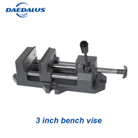 Mini Vice Work 3 inch bench Vise drill press Bench Vice Clamp Aluminium Alloy Woodworking Tool for electric machine