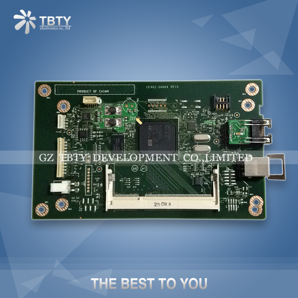 100% Guarantee Test Main Formatter Board For HP 1525 CP1525 1525N CE482-60001 HP1525 Mainboard On Sale 100% tested for washing machines board xqsb50 0528 xqsb52 528 xqsb55 0528 0034000808d motherboard on sale