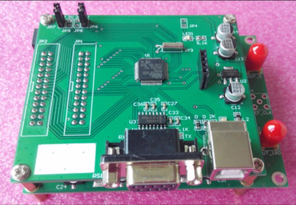 AD9910 module 1G DDS module supports official software arbitrary signal generator -YaoGreen amplifier store ad9910 high speed dds module output up to 420m 1g sampling frequency signal generator development board