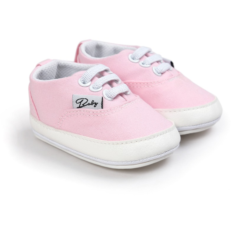 Pink Baby Soft Sole Anti-skid Sneaker Shoes