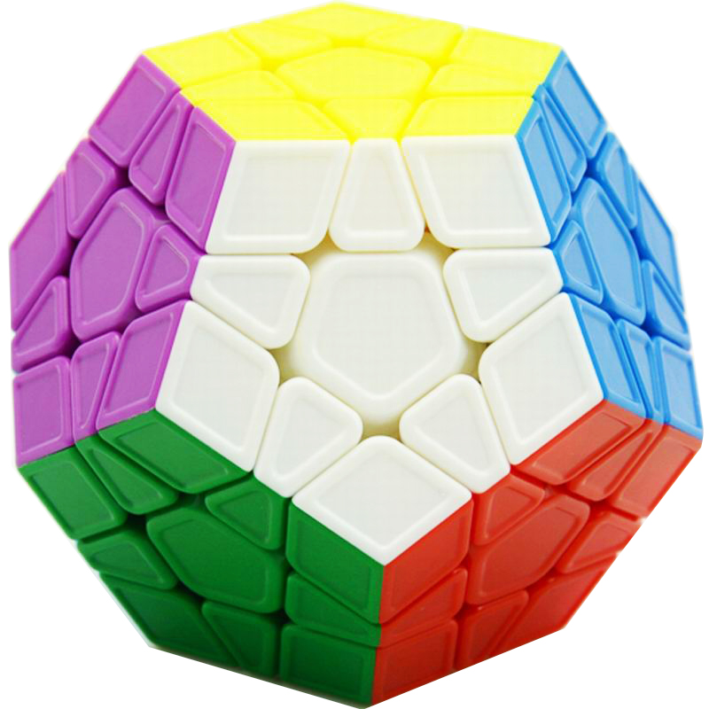 New CubeStyle Megaminx Cube Sculpture Stickerless Professional Speed Magic Cube Puzzle Educational Toys For Children Kids hot ocday special toys 12 side megaminx magic cube puzzle speed cubes educational toy new sale