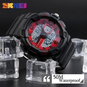 Image 4 - SKMEI Men Watches Outdoor Quartz Sports Wristwatches Fashion Casual Multifunction 50M Waterproof Watch Boy Relogio Masculino