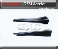 Carbon Fiber VTX Style Side Skirt Spat Addon Fit For 2008 2010 Mitsubishi Lancer Evolution EVO 10 X
