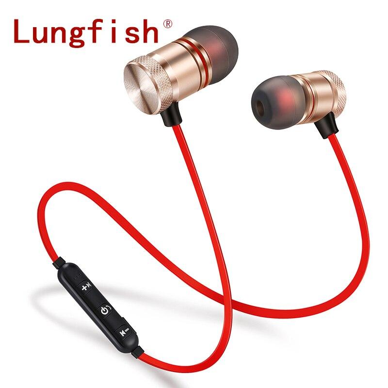 Lungfish Wireless earphone sports Bluetooth Headphones with mobile phones Bluetooth earphones with Music and sports headphones phones