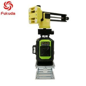 Image 5 - Fukuda 4d nível laser 16 linhas verde nível laser automático auto nivelamento 360 vertical & horizontal tilt & modo ao ar livre