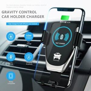 Image 2 - הר מחזיק עבור טלפון במכונית מטען 360 לא מגנטי טלפון Stand עבור Iphone סמסונג S10 בתוספת Xiaomi טלפון Stand אוויר Vent