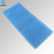 OPHIR Replacement Dual Filter For Airbrush Spray Booth Airbrushing Model Exhaust Filter Extractor _AC077