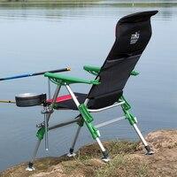 2019 vazio gancho iluminação all-terrain cadeira de pesca clássico coleção multi-purpose dobrável reclinador