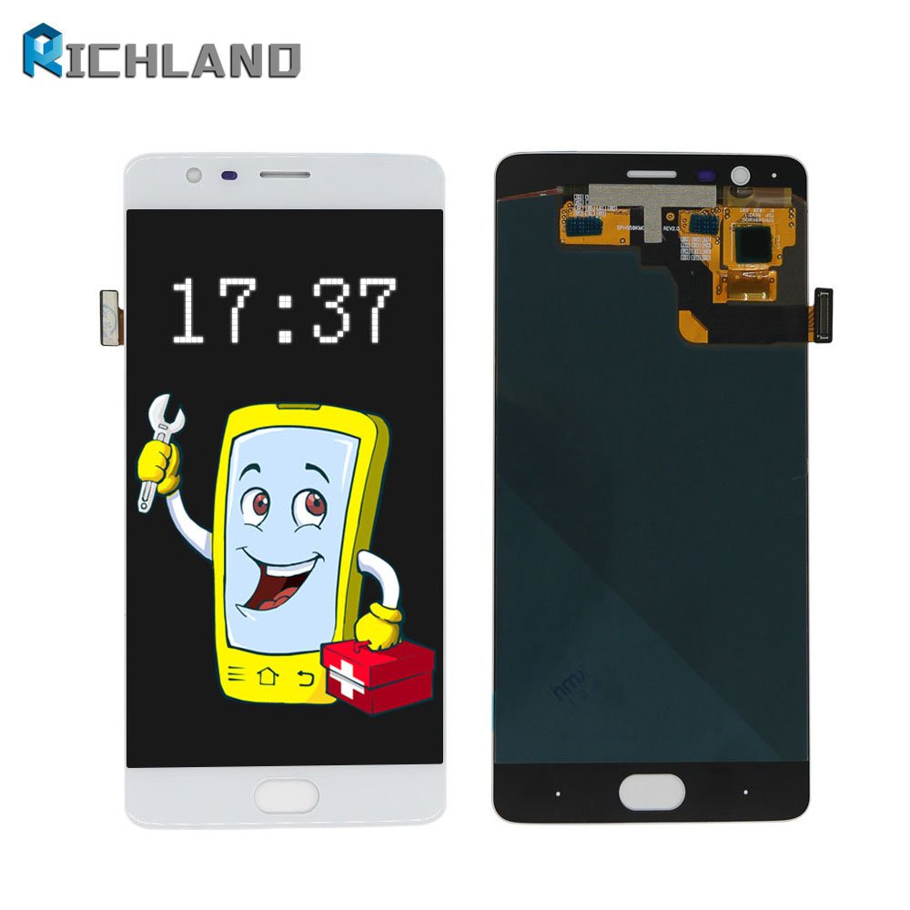 Amoled For oneplus Three 3 A3000 A3003 Lcd Display Touch Panel Digitizer Assembly Repair font b
