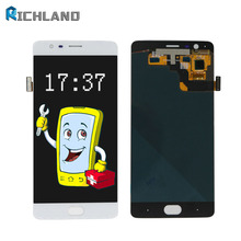 Amoled For oneplus Three 3 A3000 A3003 Lcd Display+Touch Panel Digitizer Assembly Repair Parts Replacement with Frame EU Version