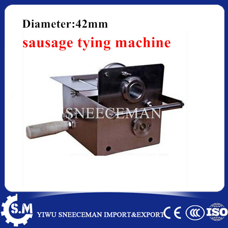 42mm sausage typing machine hand sausage sealing machine strapping knotting machine binding machine42mm sausage typing machine hand sausage sealing machine strapping knotting machine binding machine