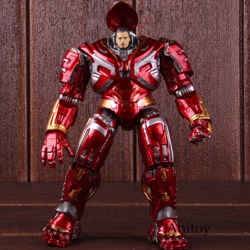 Marvel Avengers Endgame Figure Hulkbuster Mark44 PVC Action Figure With LED Light Collectible Model Toy