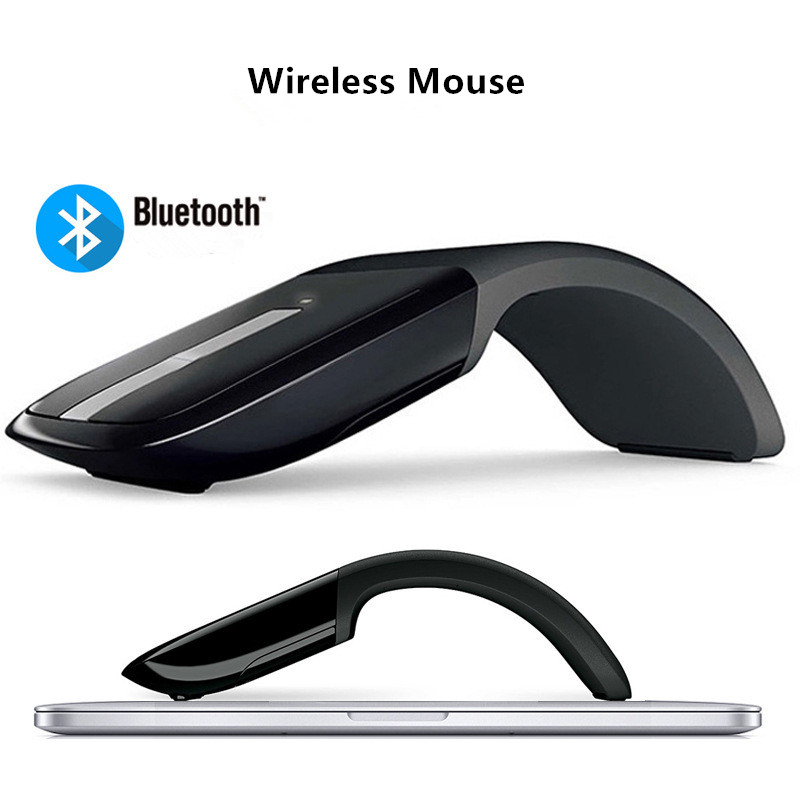 Fanshu Bluetooth 2.4 G Folding Wireless Mouse For Microsoft Arc Touch 2 Generation  Foldable For Arc Touch Wireless Optical Mice